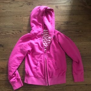 Pink J.Crew Hoodie Size Small